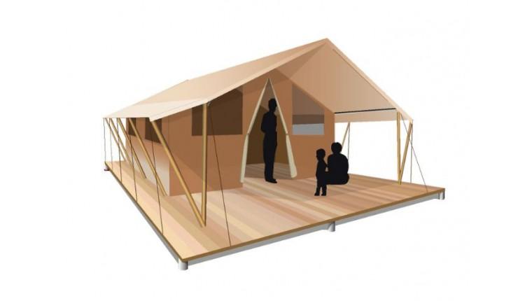 Tente Classic 400 Bois Permanent