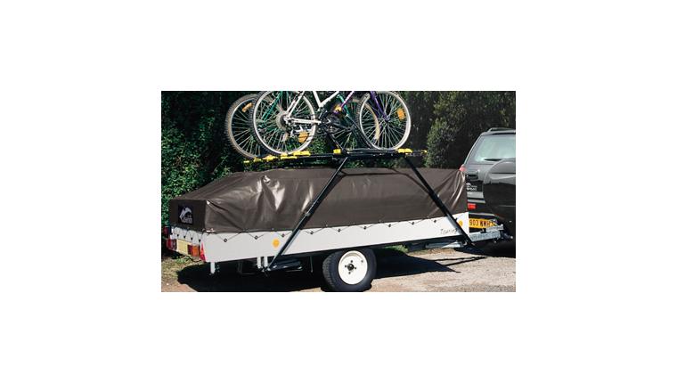 Galerie pour porte-vélos pour Caravane Pliante grand modèle