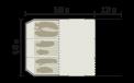 Schéma aérien tente Biscaya 440