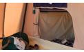 Tente intérieure sous plateau pour caravane pliante
