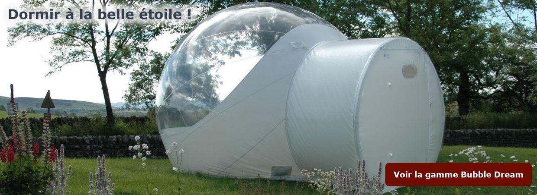 Bubble Dream, une nuit à la belle étoile !